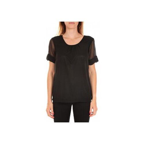 Vero Moda  T-Shirt Top BLOMMA SS Black EU S;EU XS