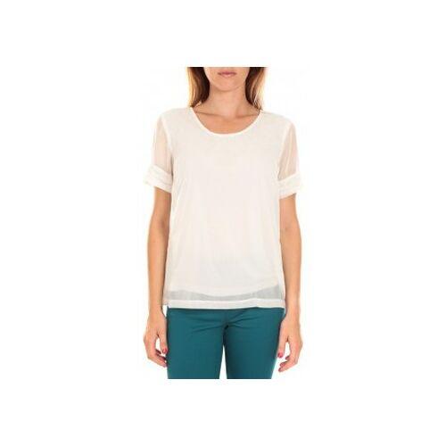 Vero Moda  T-Shirt Top BLOMMA SS Snow White EU M;EU L;EU XS