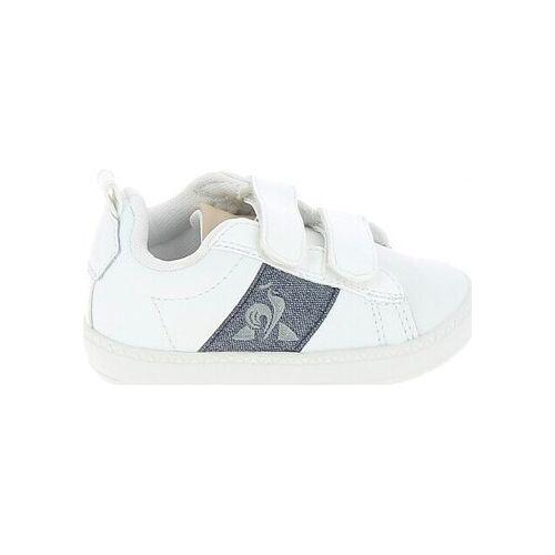 Le Coq Sportif  Sneaker Courtclassic BB Blanc Bleu 21;22;23;24;25;26;27