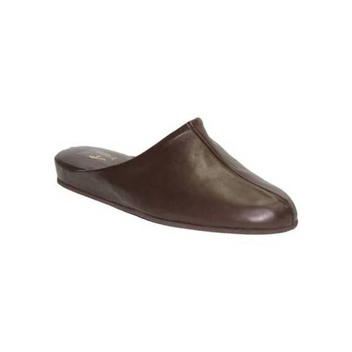 Trigono  Clogs   Leather Thongs Männer  braun 39;40;41