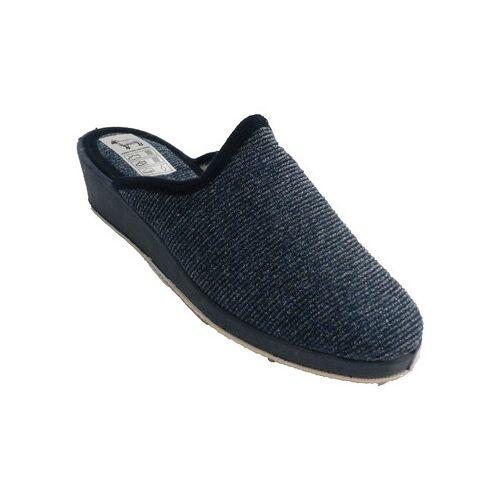 Made In Spain 1940  Hausschuhe Frau Winter Schuh hinten offen Soca mari 39;41