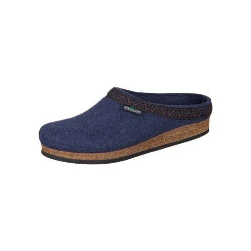 Stegmann  Hausschuhe 108-8813 jeans Wollfilz 108-8813 36;37;38;39;40;41;42;43;44;45;46