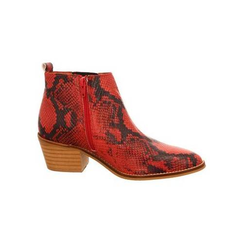 Dna  Stiefeletten Stiefeletten Western-Stiefelette 514513 red 36;37;38;41