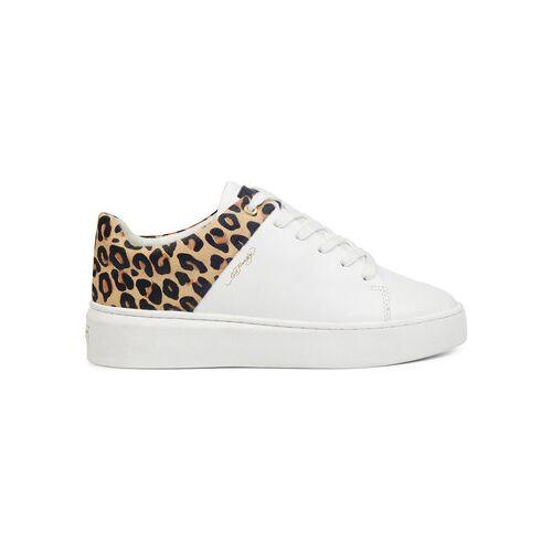 Ed Hardy  Sneaker - Wild low top white leopard 36