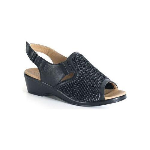 Calzamedi  Sandalen bequeme Sandale elastische Klinge 36