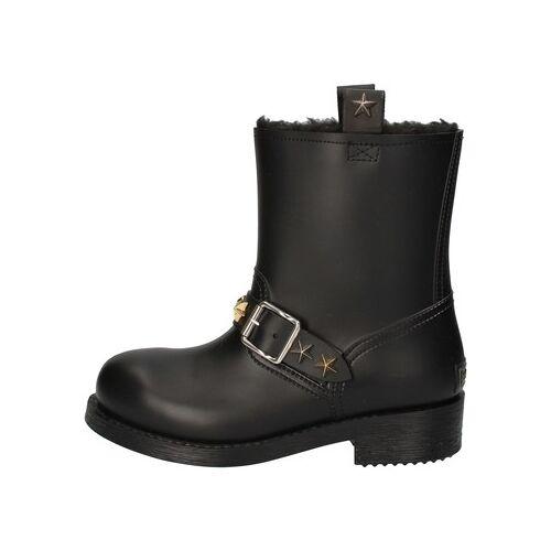 Roberto Cavalli  Stiefeletten stiefeletten schwarz gummi AD190 36