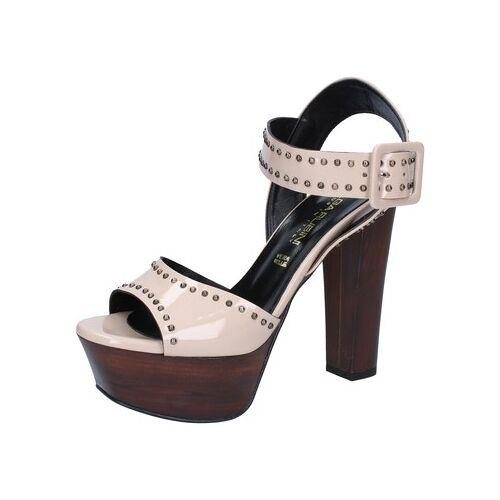 Olga Rubini  Sandalen sandalen beige lack nieten BY316 38;39