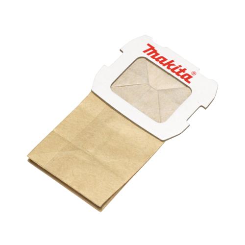 Makita Staubsack aus Papier 10 Stk. ( 2x 194746-9 ) für Exzenterschleifer BO 5031 / BO 5041 / DBO 180 und Schwingschleifer BO 3711 / BO 4555 / BO 4565