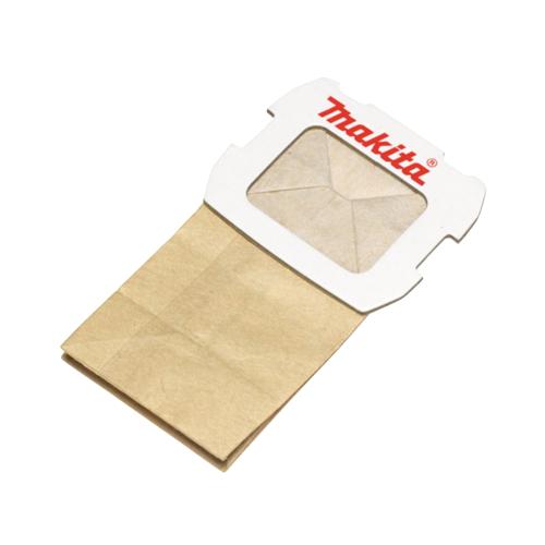 Makita Staubsack aus Papier 20 Stk. ( 4x 194746-9 ) für Exzenterschleifer BO 5031 / BO 5041 / DBO 180 und Schwingschleifer BO 3711 / BO 4555 / BO 4565