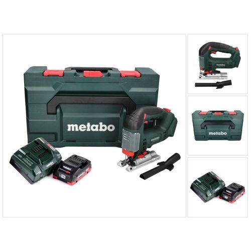 Metabo STAB 18 LTX 100 Akku Stichsäge 18 V + 1x LiHD Akku 4,0 Ah + Ladegerät + MetaBOX