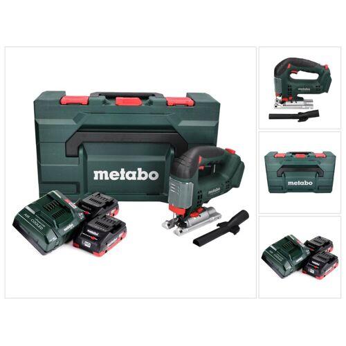 Metabo STAB 18 LTX 100 Akku Stichsäge 18 V + 2x LiHD Akku 4,0 Ah + Ladegerät + MetaBOX