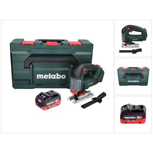Metabo STAB 18 LTX 100 Akku Stichsäge 18 V + 1x LiHD Akku 8,0 Ah + MetaBOX - ohne Ladegerät