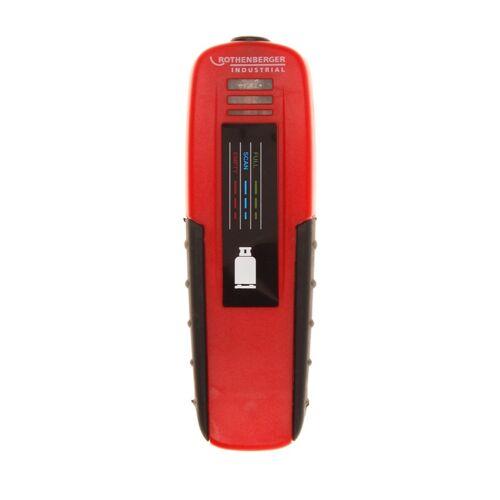 Rothenberger Industrial RoGasfüllstandmessgerät Gasfüllmessgerät ( 1500003369 ) + Batterie für 5 kg / 11 kg / 33 kg Propangasflaschen