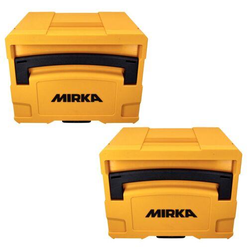 Mirka Systainer Case Set 2x T-LOC  4 Werkzeugkoffer gelb ( 2x MIN6535011 ) 400 x 300 x 315 mm