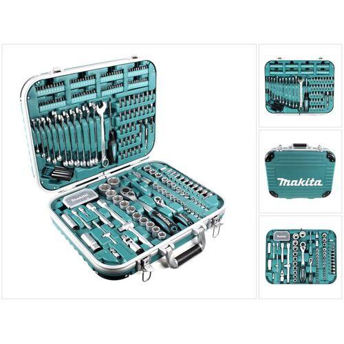 Makita P-90532 Werkzeugset 227-teilig im verschließbaren Transportkoffer mit Bits und Steckschlüsseln
