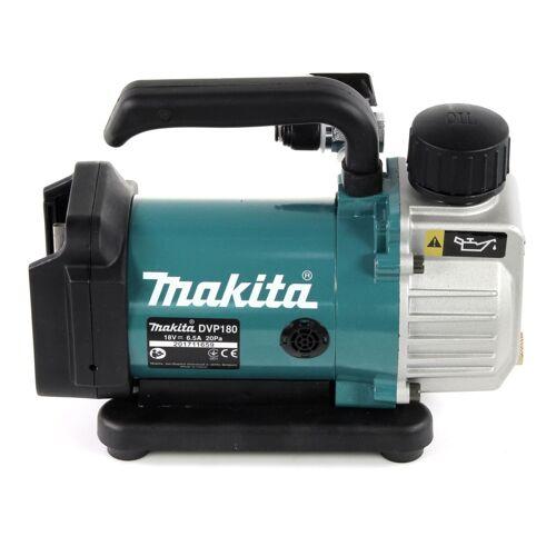 Makita DVP 180 Z Akku Vakuumpumpe 18 V Vakuum Pumpe Kompressor für Klimaanlage und Tanks