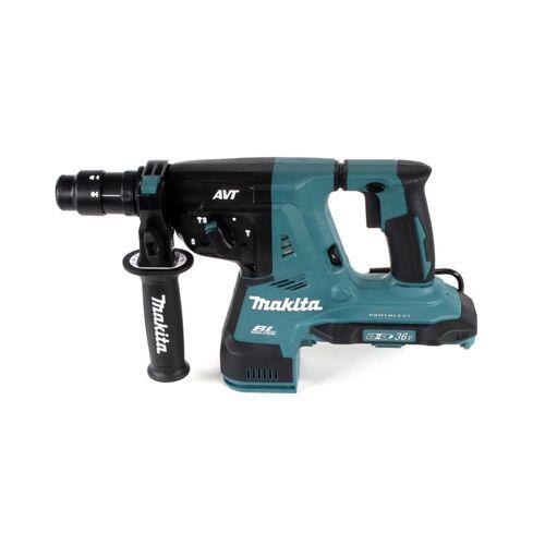 Makita DHR 281 PG4J Brushless Akku Bohrhammer 28 mm 2x 18 V für SDS-PLUS mit Schnellwechselfutter im Makpac + 4x 6,0 Ah Akku + Doppelladegerät