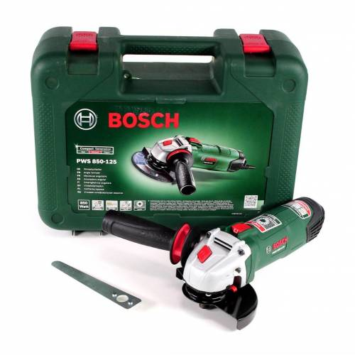 Bosch PWS 850-125 Winkelschleifer 850 W 125 mm im Koffer