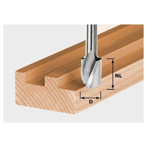 Festool Spiralnutfräser HS Spi S8 D20/25 20 x 25 mm 8 mm Schaft ( 490951 )