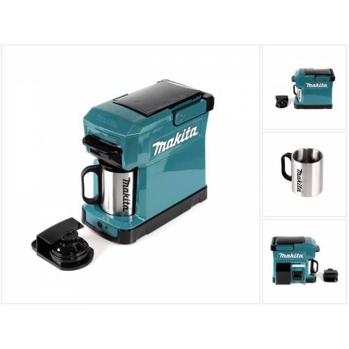 Makita DCM 501 Z Kaffeemaschine Akku betrieben, tragbar - ohne Zubehör, ohne Akku, ohne Ladegerät
