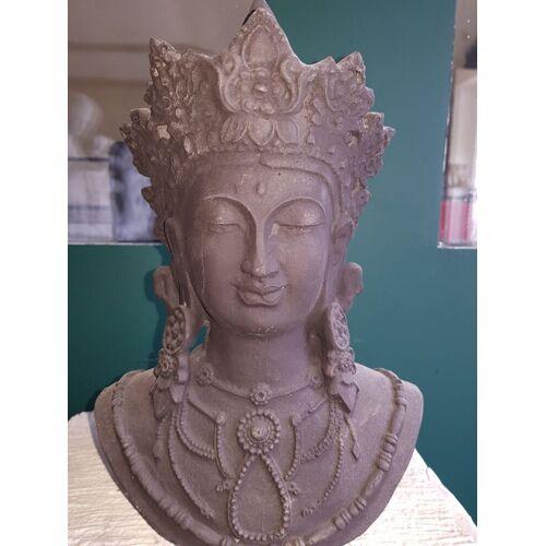 dsf Gartenfigur Shiva Gesicht
