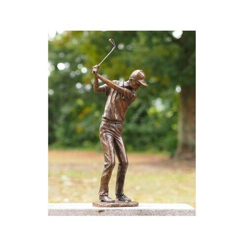 TB Bronzefigur Golfspieler