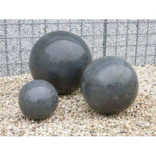 GK Granit-Kugel schwarz, poliert