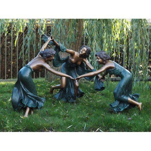 TB Bronzefigur 3 tanzende Frauen