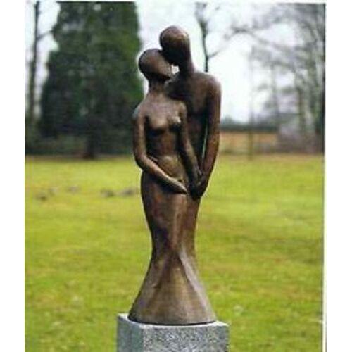 dsf Bronzefigur Liebespaar