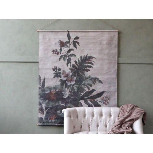 CA Leinwand zum aufhängen m. Blumendruck von Chiq Antique