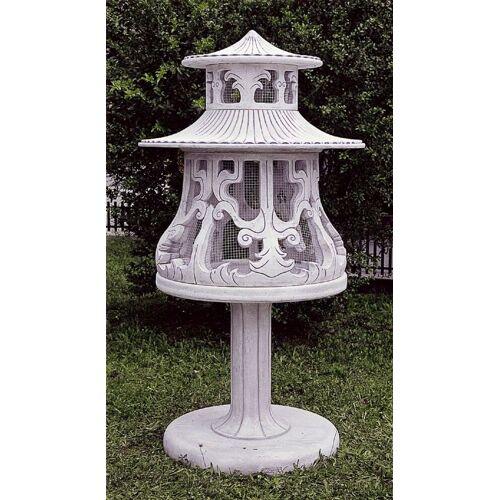 dsf Gartenfigur Vogelvoliere