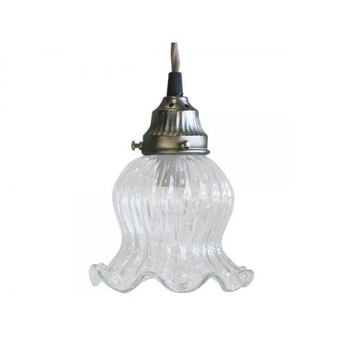 CA Lampe Tulpe Glas handgemacht von Chic Antique