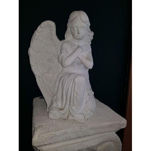 dsf Gartenfigur Engel auf Knien