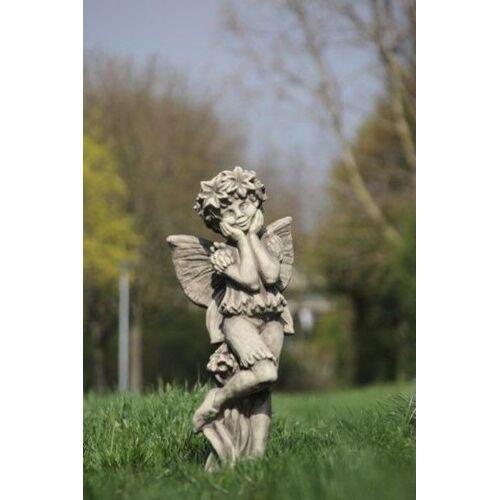"""VF Gartenfigur FLOWER FAIRY """"Kornblume"""", Steinguss"""
