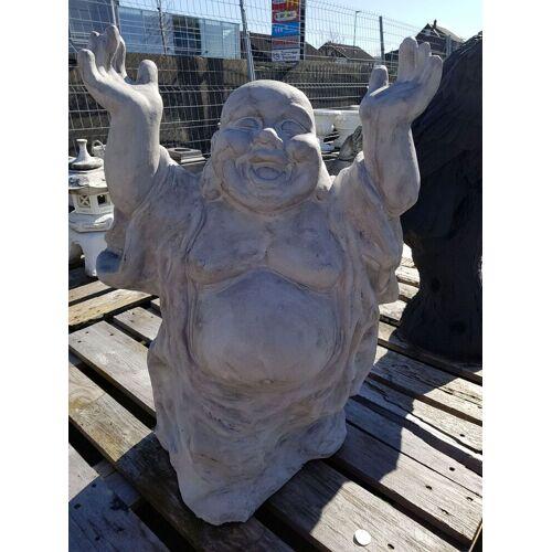 dsf Gartenfigur Buddha lachend