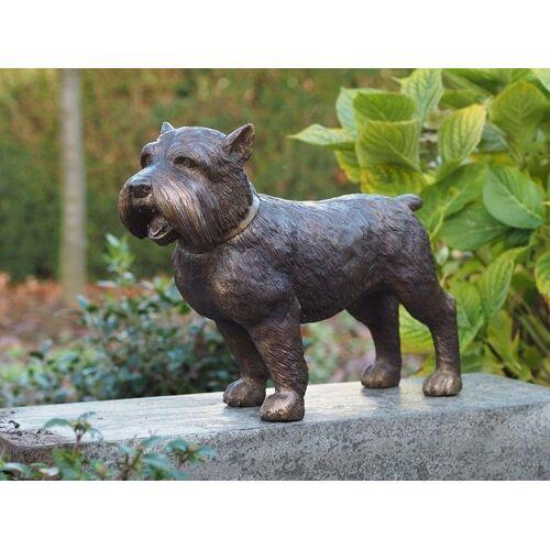 TB Bronzefigur Yorkshire Hund