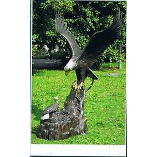 dsf Bronzefigur Adler