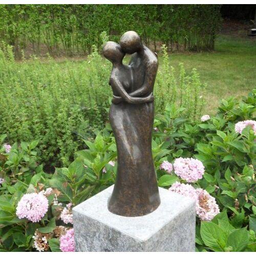 dsf Bronzefigur Liebespaar M
