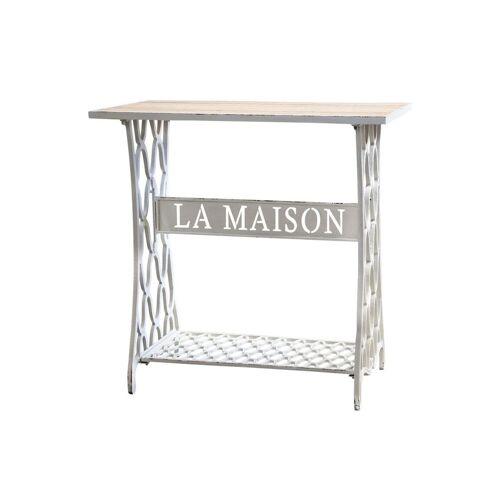 """CA GusseisenTisch m. Ablage """"La Maison"""" von Chic Antique"""