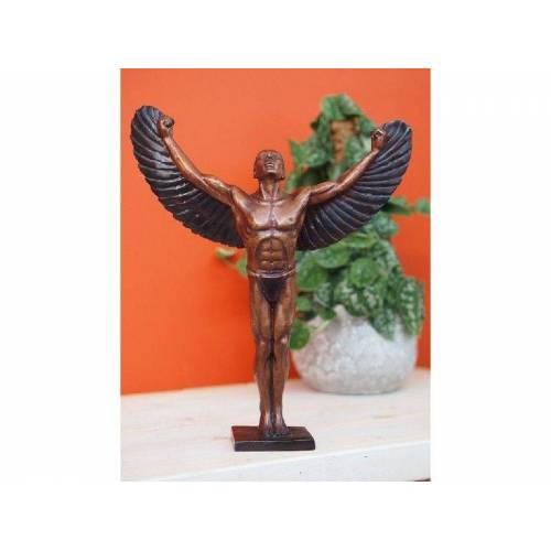 TB Bronzefigur Ikarus