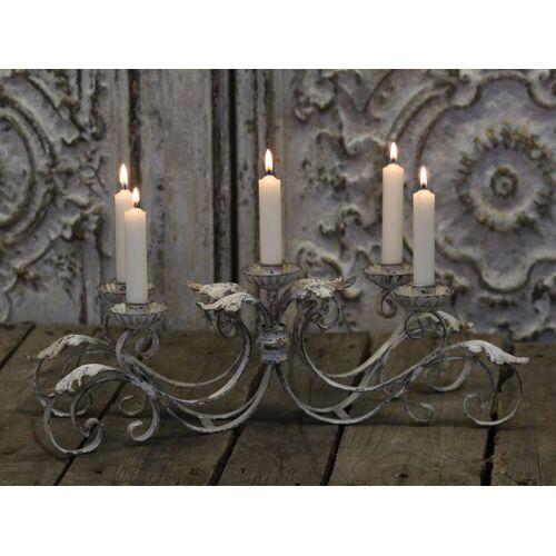 CA Franz. Kerzenständer für 5 Kerzen von Chic Antique