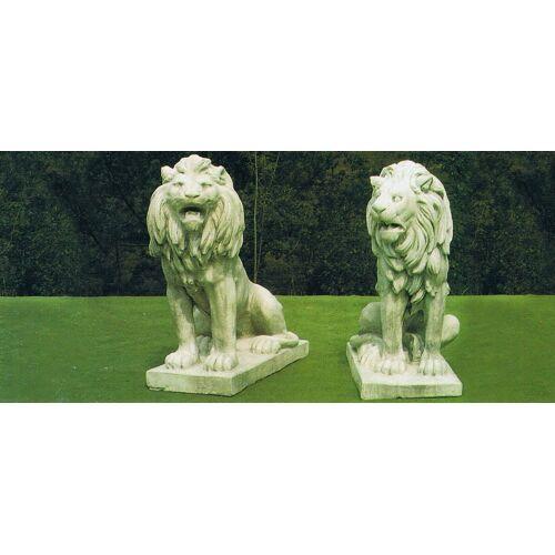 dsf Gartenfigur Zwei Löwen