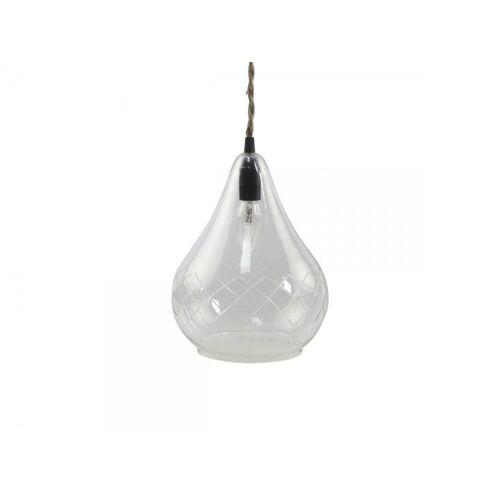 CA Lampe mit Schliff handgemacht von Chic Antique