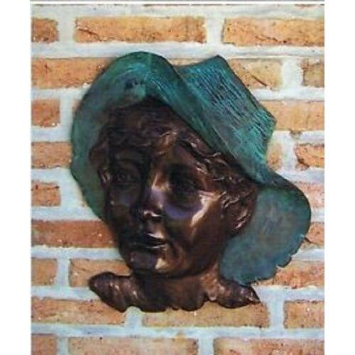 dsf Bronzefigur Relif aus Bronze HW 0850 BR-B