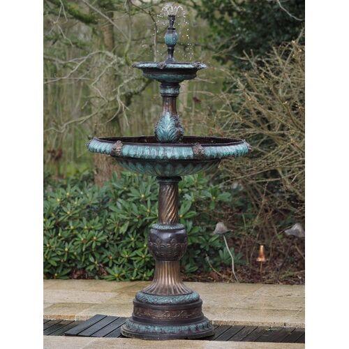 TB 2 Schalen Brunnen aus Bronze