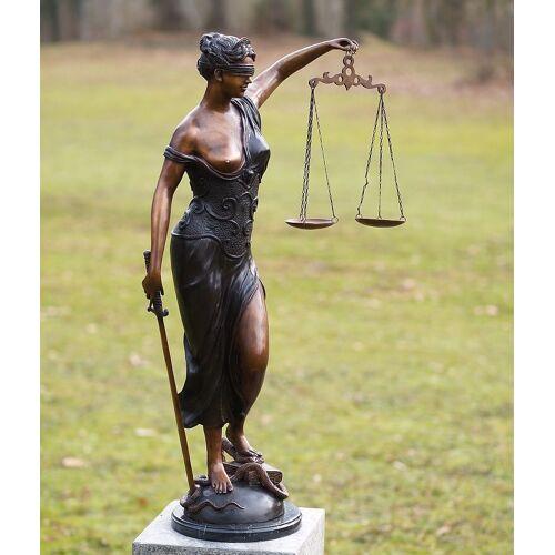TB Bronzefigur Justitia