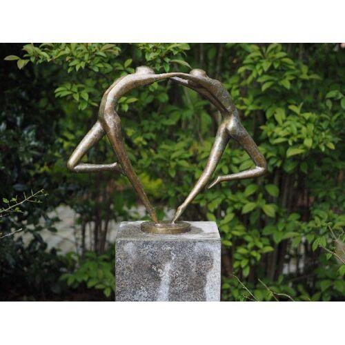 TB Bronzefigur Abstraktes Tanzpaar