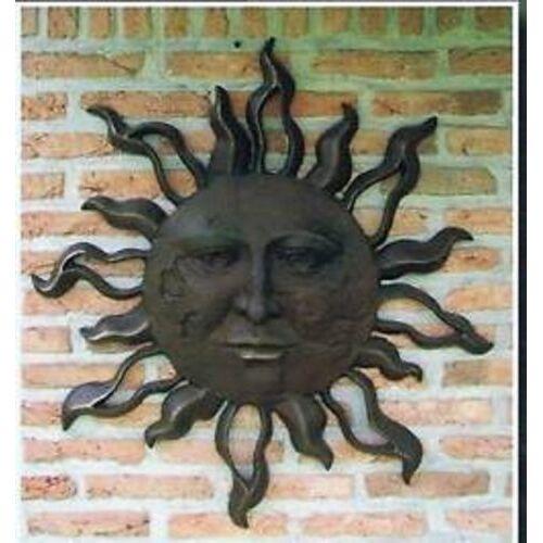 dsf Bronzefigur Sonne aus Bronze HW 0447 BR-B