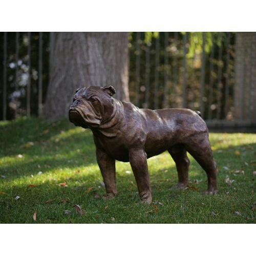 TB Bronzefigur Englische Bulldogge