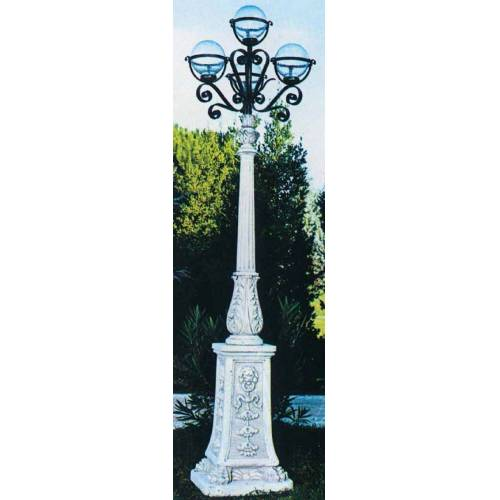 dsf Gartenlampe Con 4 Globi 12 1459 IG